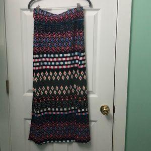 Aeropostale Small vibrant maxi skirt! BRAND NEW!
